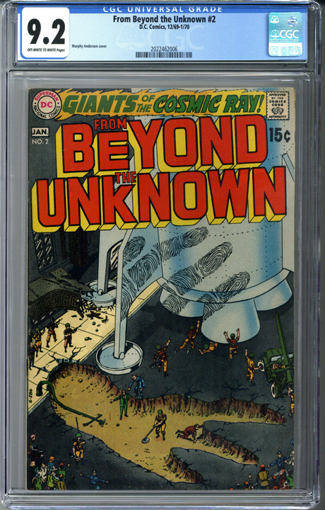 From Beyond the Unknown #2 CGC 9.2