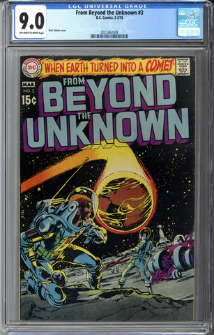 From Beyond the Unknown #3 CGC 9.0