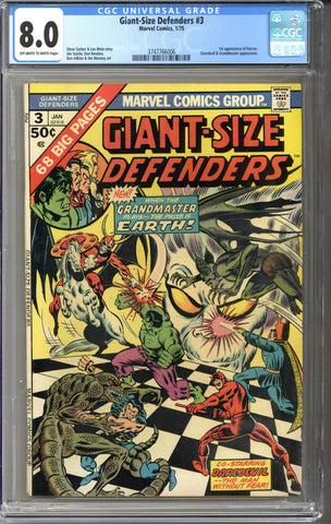 Giant-Size Defenders #3 CGC 8.0