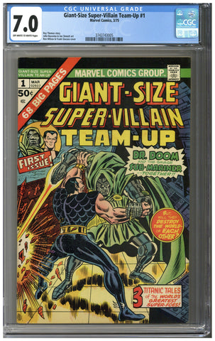 Giant-Size Super-Villain Team-Up #1 CGC 7.0