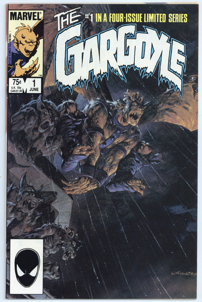 The Gargoyle Limited Series #1 thru 3 NM (3 books total)