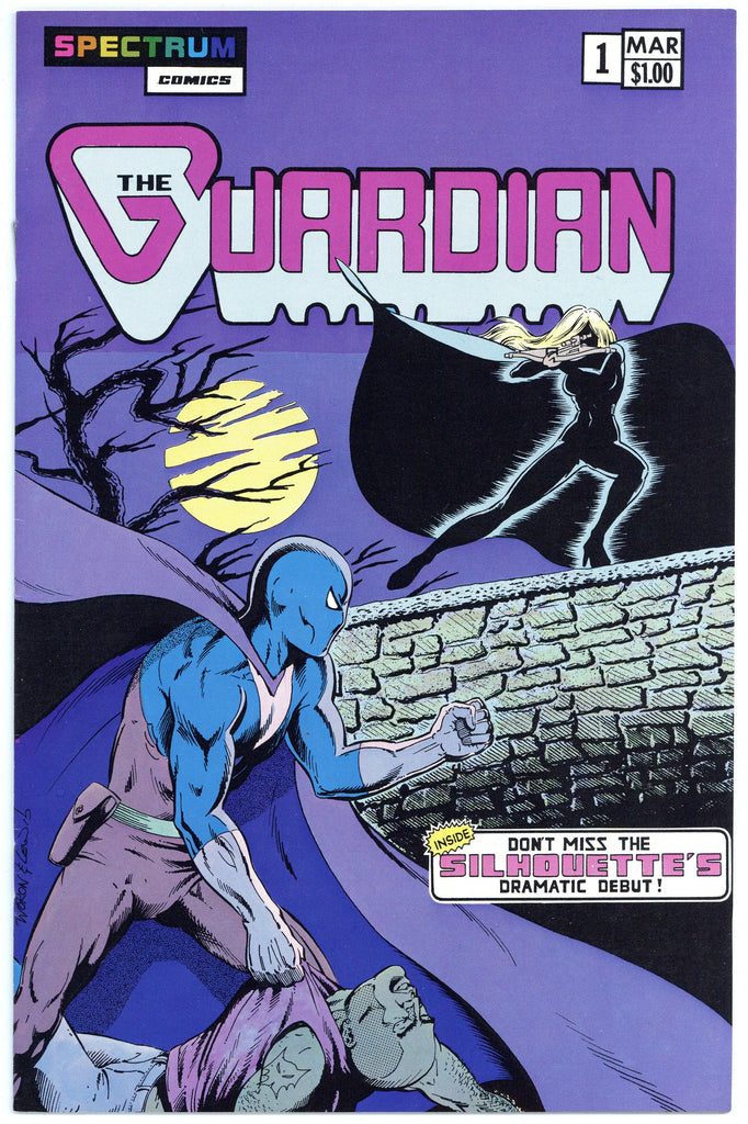 The Guardian #1 & 2 VF (2 books total)