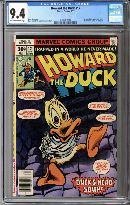 Colorado Comics - Howard the Duck #12  CGC 9.4