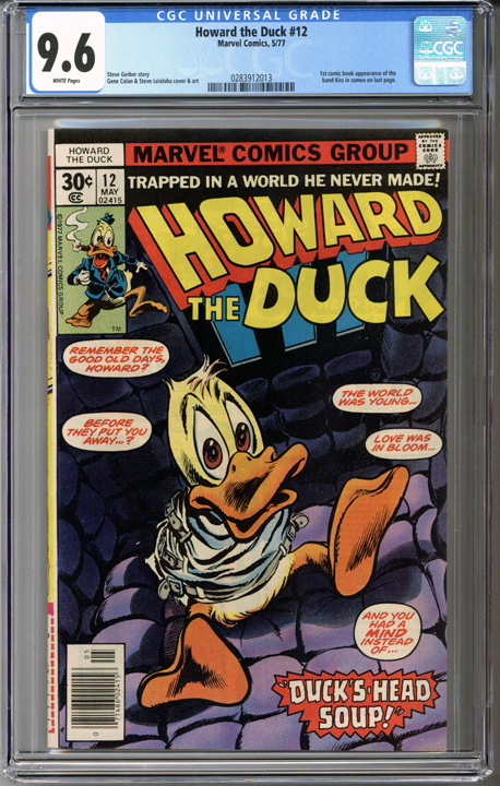 Howard the Duck #12  CGC 9.6