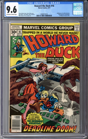 Colorado Comics - Howard the Duck #16  CGC 9.6