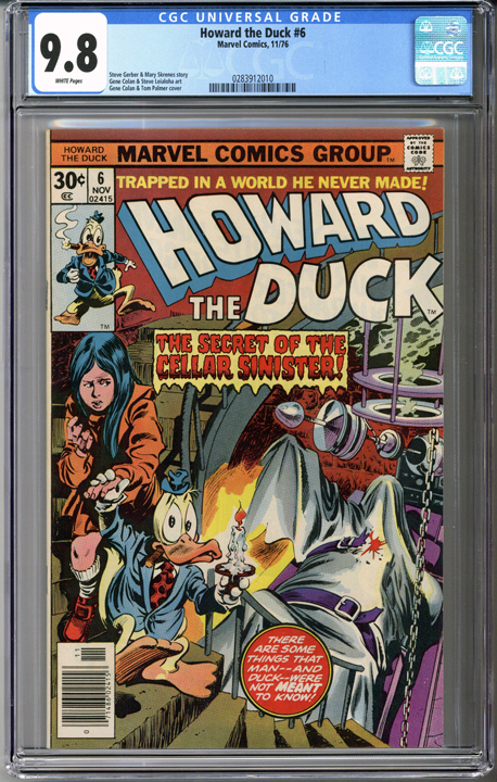 Howard the Duck #6  CGC 9.8