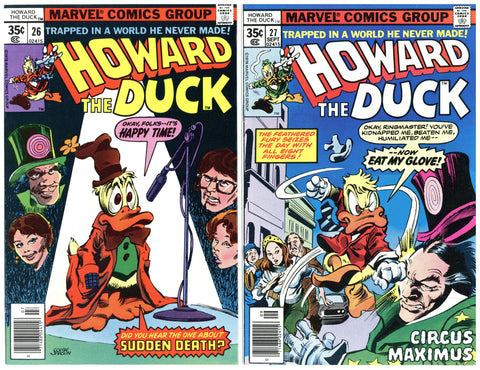Howard the Duck #26 thru 31 VF to NM (6 books total)