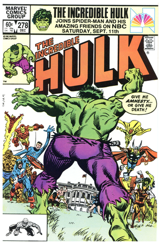Incredible Hulk #278 NM+