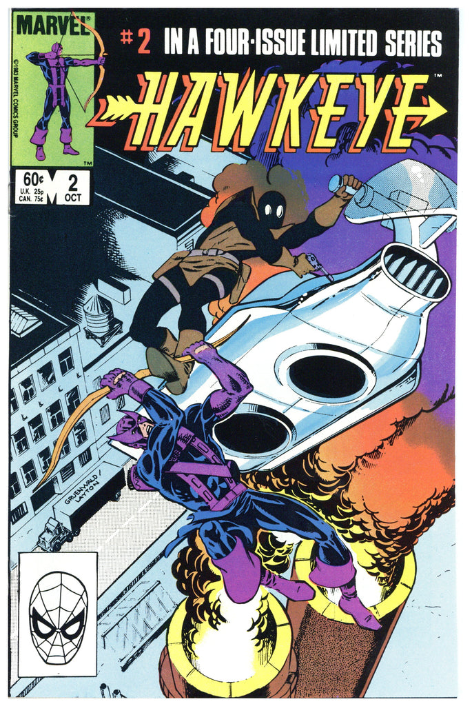 Hawkeye Limited Series #2 NM