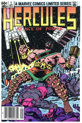 Hercules Limited Series #1 thru 4 NM (4 books total)