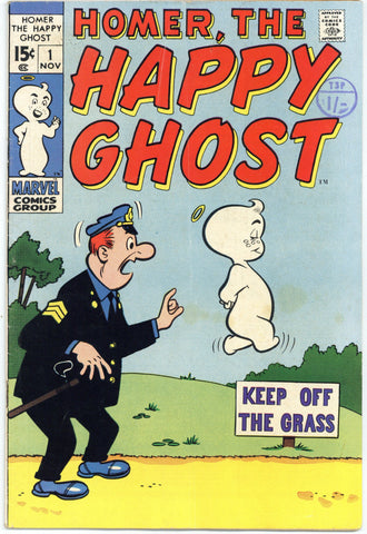Homer the Happy Ghost #1 Fine