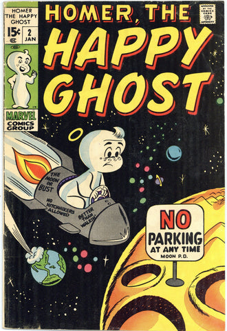 Homer the Happy Ghost #2 Fine-