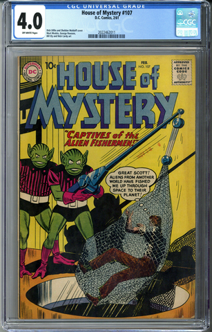 House of Mystery #107 CGC 4.0