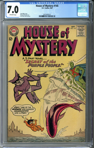House of Mystery #145 CGC 7.0