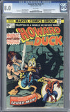 Howard the Duck #1  CGC 8.0