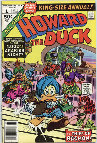 Howard the Duck Annual #1 NM+