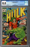 Incredible Hulk #141  CGC 8.0
