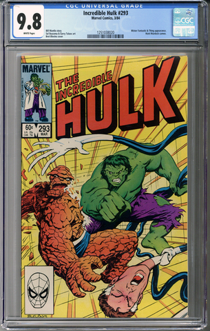 Incredible Hulk #293 CGC 9.8