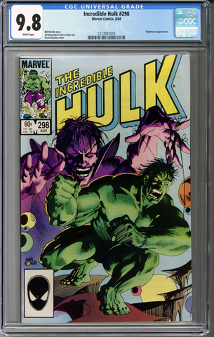 Incredible Hulk #298 CGC 9.8