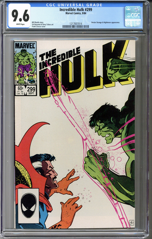 Incredible Hulk #299 CGC 9.6