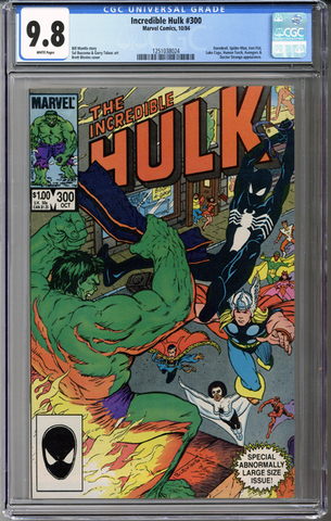 Incredible Hulk #300 CGC 9.8