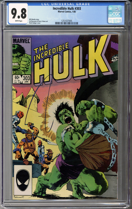 Incredible Hulk #303 CGC 9.8