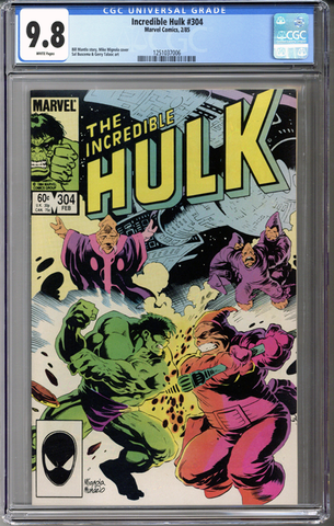 Incredible Hulk #304 CGC 9.8