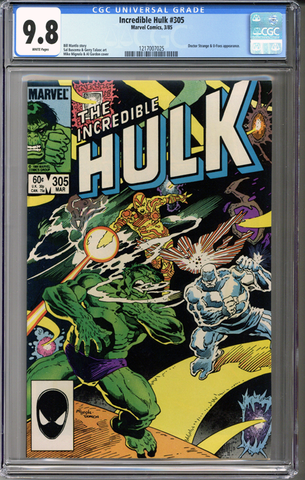 Colorado Comics - Incredible Hulk #305  CGC 9.8