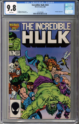 Incredible Hulk #322 CGC 9.8