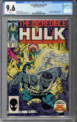 Colorado Comics - Incredible Hulk #337  CGC 9.6
