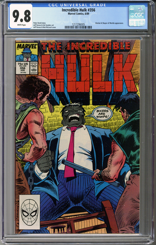Colorado Comics - Incredible Hulk #356  CGC 9.8