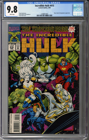 Incredible Hulk #415 CGC 9.8