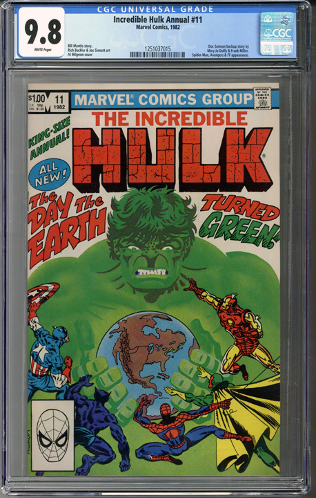 Incredible Hulk Annual #11 CGC 9.8