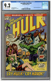 Incredible Hulk #150 CGC 9.2