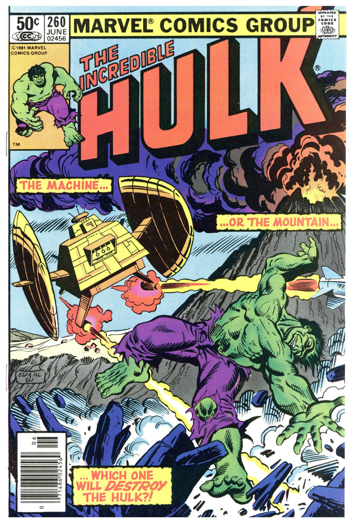 Incredible Hulk #260 NM