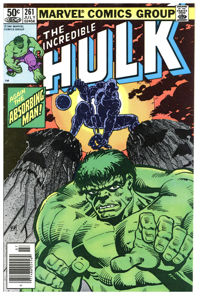 Incredible Hulk #261 Fine