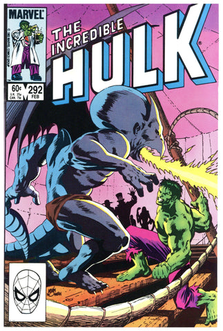 Incredible Hulk #292 NM+