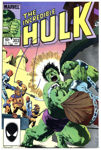 Incredible Hulk #303 NM