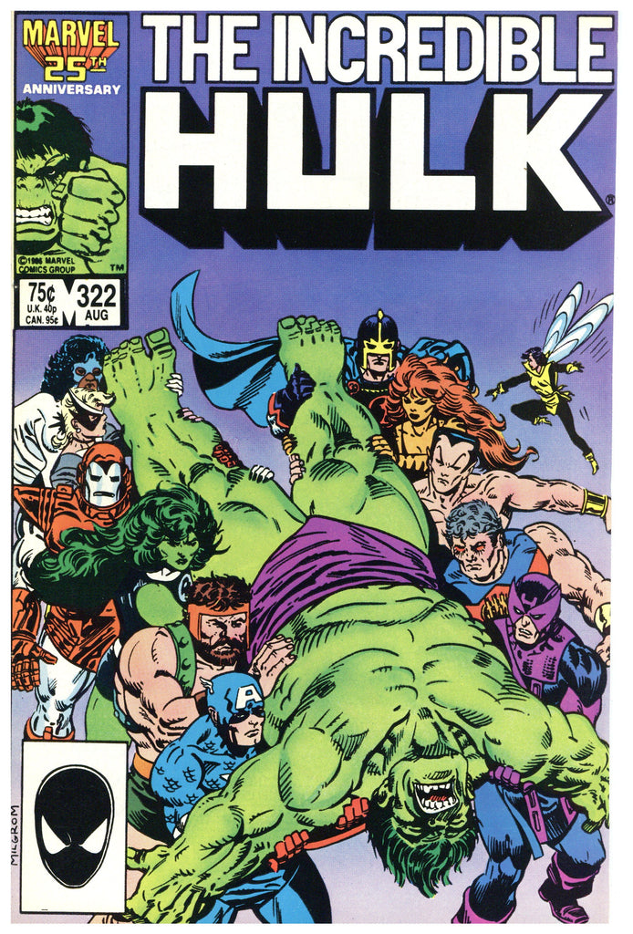 Incredible Hulk #322 NM+