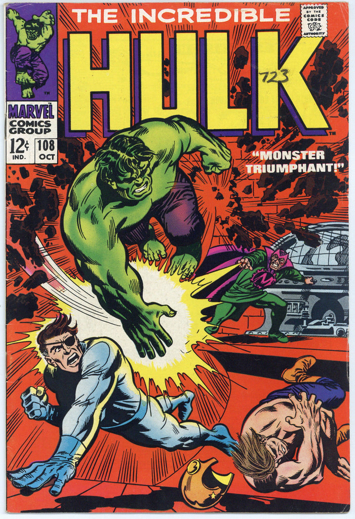 Incredible Hulk #108 VF-