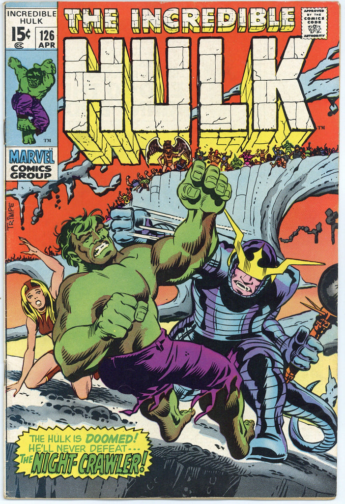 Incredible Hulk #126 VF