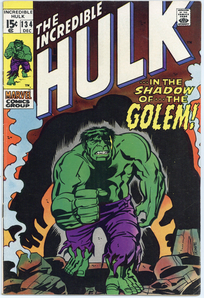 Incredible Hulk #134 VF+