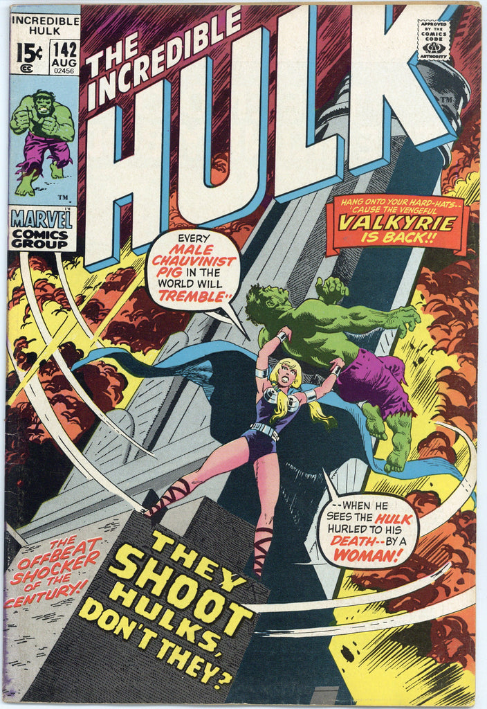 Incredible Hulk #142 F/VF