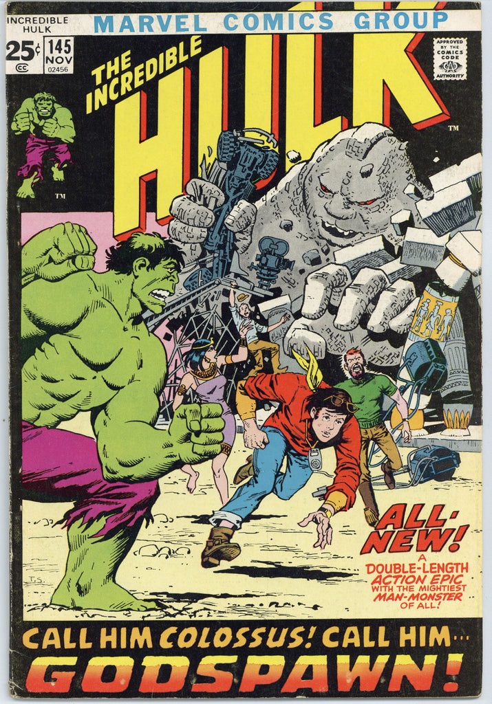 Incredible Hulk #145 F/VF