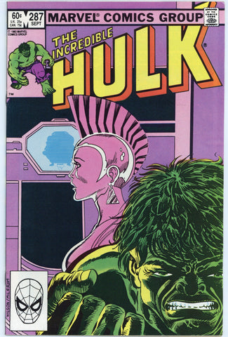 Incredible Hulk #287 NM
