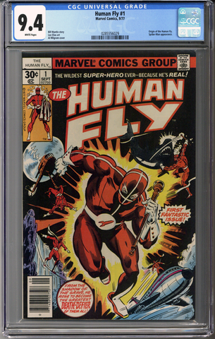 Colorado Comics - Human Fly #1  CGC 9.4