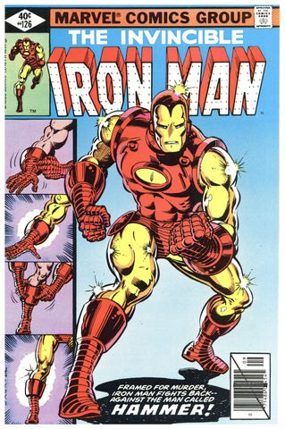 Iron Man #126 VF