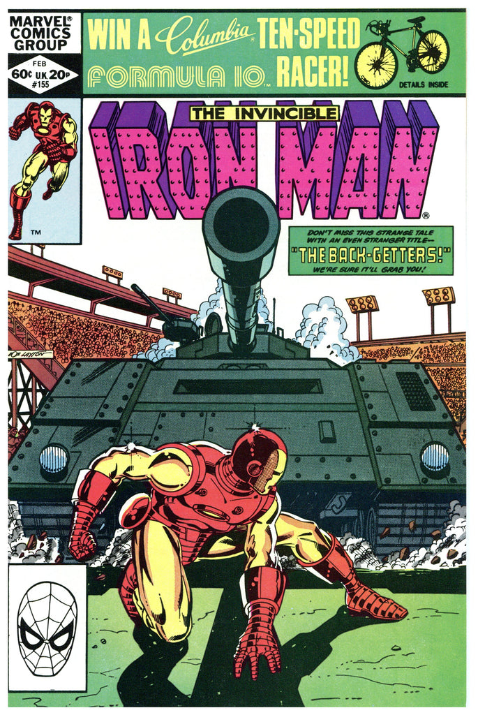 Iron Man #155 NM