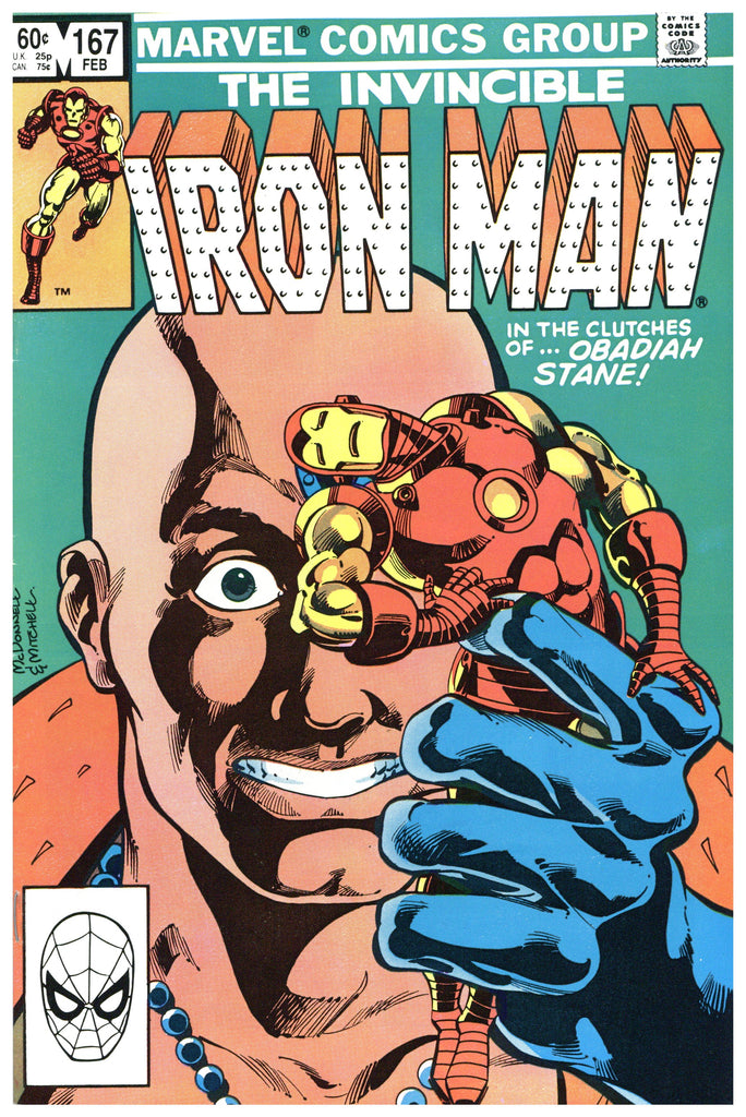 Iron Man #167 NM-