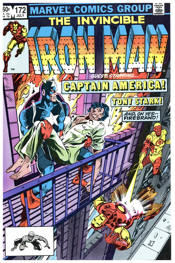 Iron Man #172 NM-
